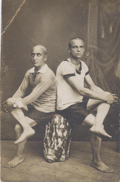 Иван и Михаил Курындины