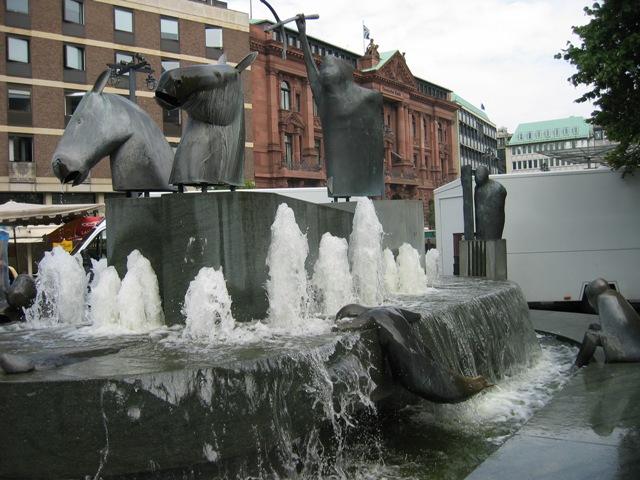 Городская скульптура. Бремен.