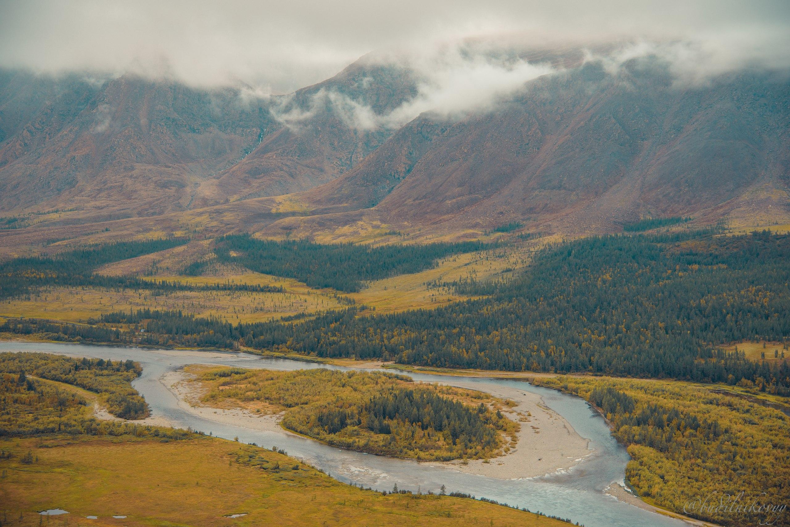 Полярный Урал река Собь
