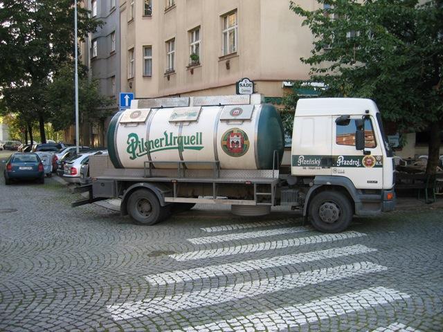 «Pivnice U Sadu», Жижков. Прага. 6 утра.