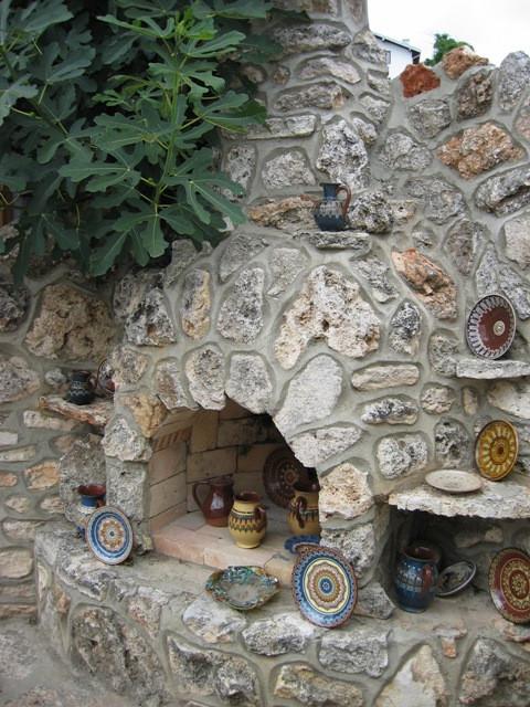 Балчик. Болгария. Мастерская керамики. 2007.