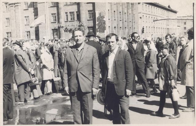 День шахтера. Последнее воскресенье августа 1972 года. Город Воркута, Коми АССР.