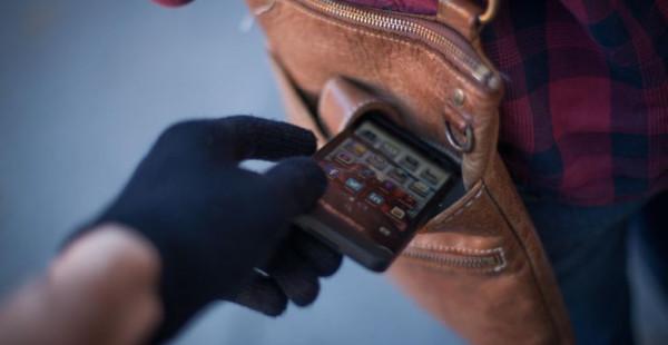 смартфон кража