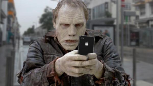 зомби смартфон