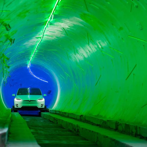 тоннель маска