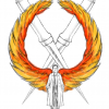 Wings Aflame Crest