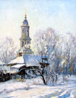 2004_Зимний день_ХОМ_45х35
