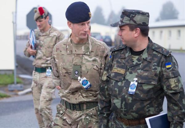 Британские солдаты замечены на Украине
