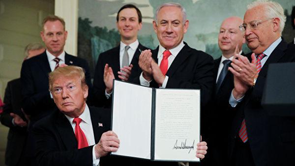 Какой будет судьба Израиля после решения Трампа о Голанах?