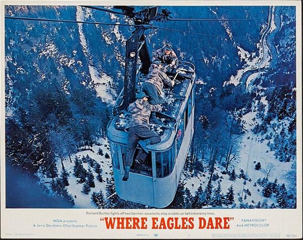 """Субботний кино-хит. """"Where Eagles Dare"""" (""""Только для орлов"""")"""