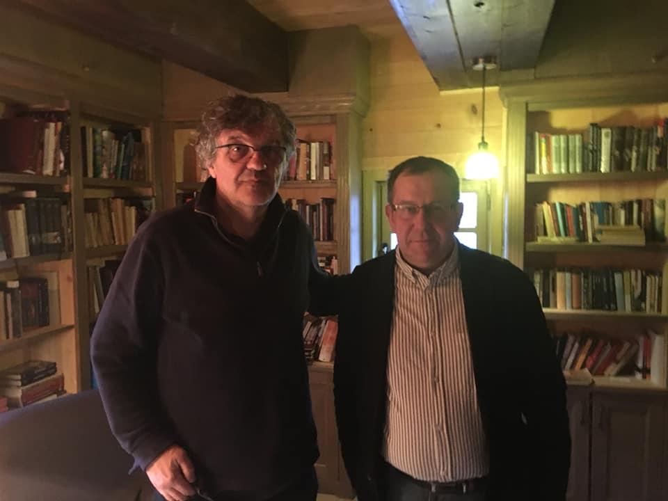 Эмир Кустурица и Михаил Куракин