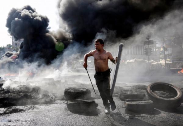 """Фото дня. Майдан - """"капут""""?"""