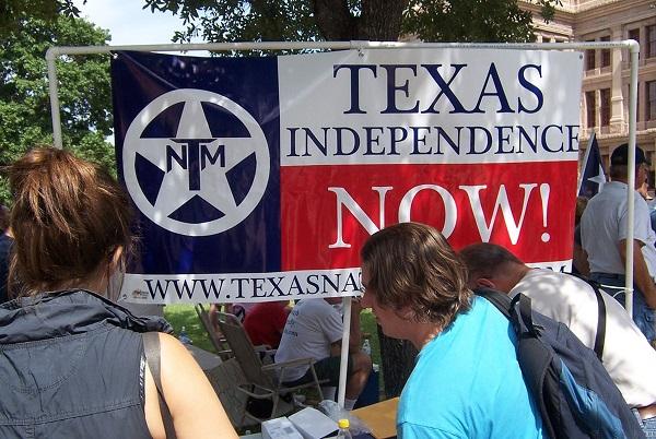 Сбор подписей под петицией о независимости Техаса. Фото от keywordsbasket.com
