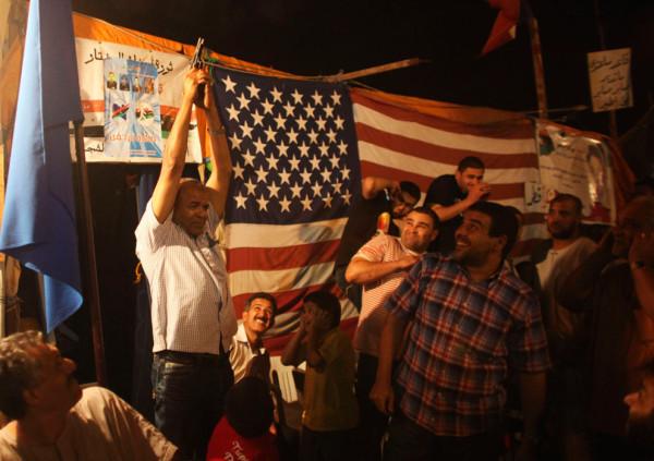 Это не ислам, это американский фашизм. Повстанцы несущие свои флаги несут и американские флаги тоже.