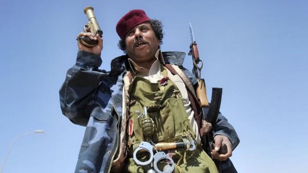 Ливийский мятежник