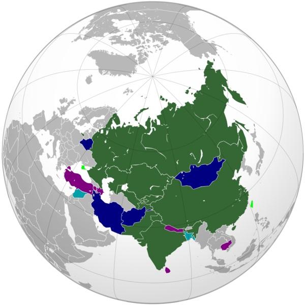 ШОС как проект будущей «Великой Евразии»