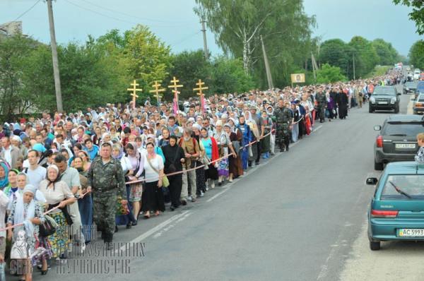 Крестный ход – на Киев