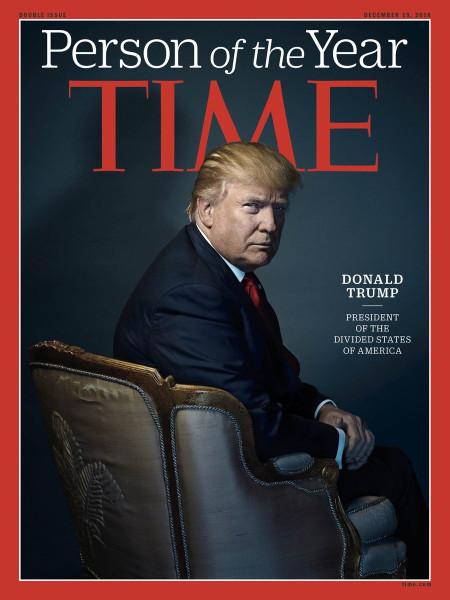 """Образ дня. Трамп - президент """"Разъединенных Штатов Америки""""!"""