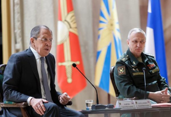 Очень интересное выступление Лаврова в Академии Генерального Штаба ВС РФ
