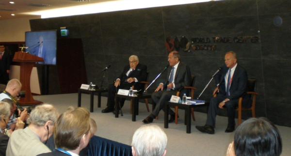 Сергей Лавров и Генри Киссинджер выступили на «Примаковских чтениях»