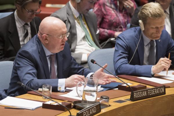 Небензя в ООН: Не думайте, что вам удастся спрятаться за ядовитым фальсификатом своей лжи и домыслов