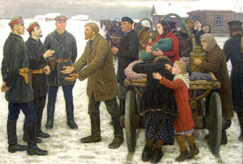 Три причины сталинской коллективизации русской деревни с точки зрения