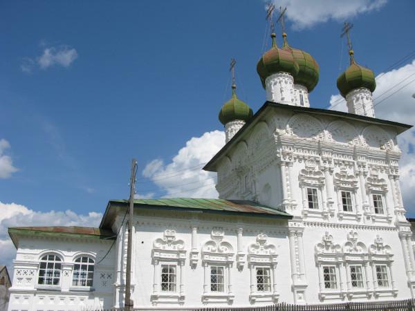 Церковь в Ныробе