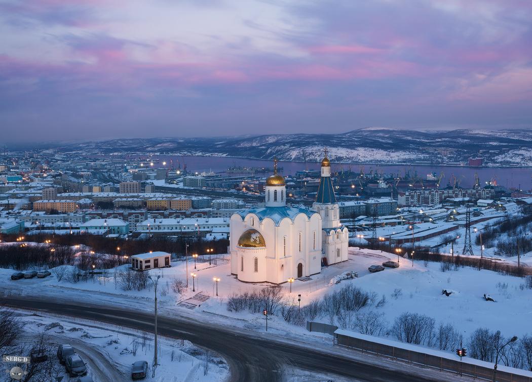 Церковь Спаса на Водах, Мурманск: serg_degtyarev — LiveJournal