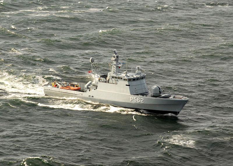 ПК типа Флювефискен Летучая рыба Danish_HDMS_Viben