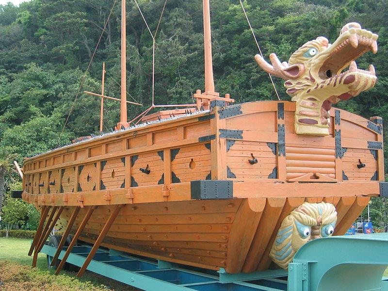 Дракон корабль Кобуксон Ю.Корея