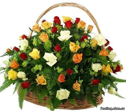 483012_220773851377917_89708170_n  корзина с розами разными