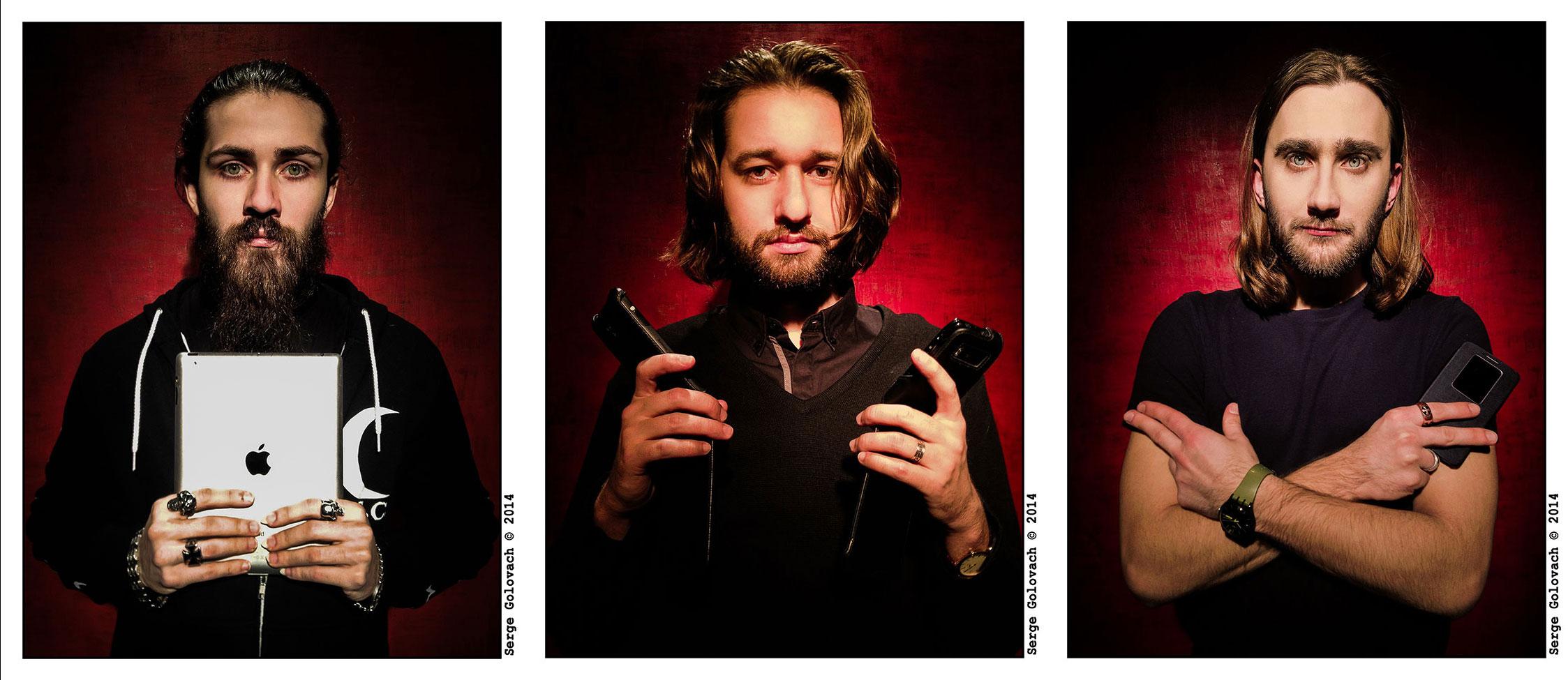 Golovach APPostles Triptych