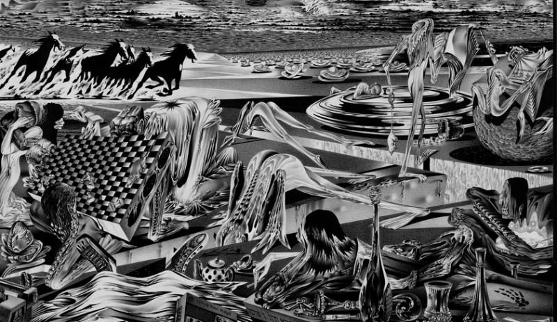 Фрагмент графического произведения Анатолия Фоменко.