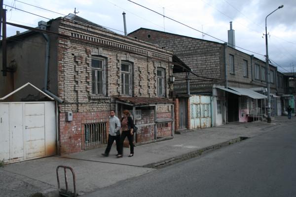 Гори, улица в районе автостанции