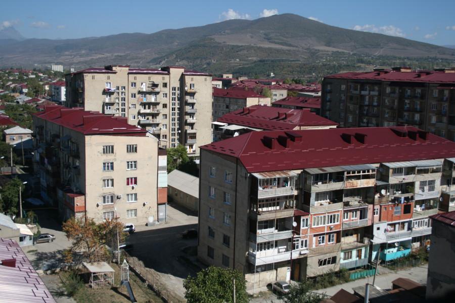 Цветные крыши Цхинвала