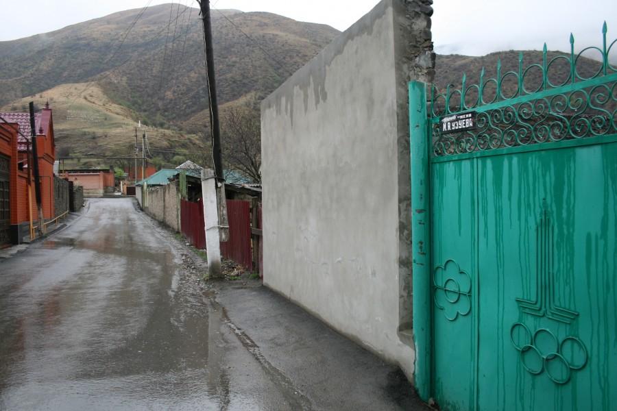 Чечня, село Итум-Кале