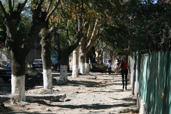 Цхинвал, проспект Исака