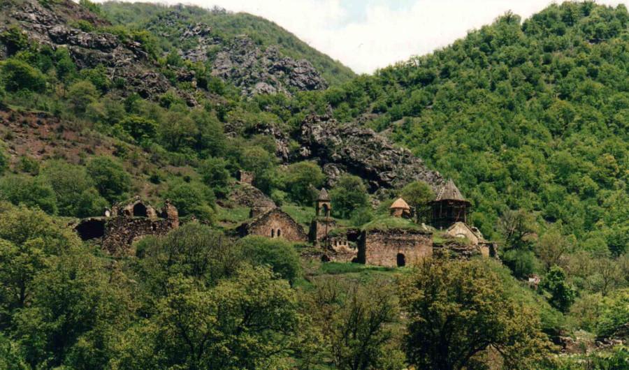 Нагорный Карабах, монастырь Дадиванк