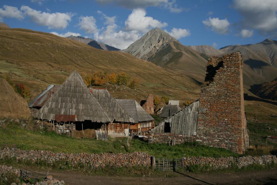 Южная Осетия, село Средний Эрман