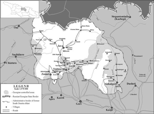02. Южная Осетия по итогам войны 91-92