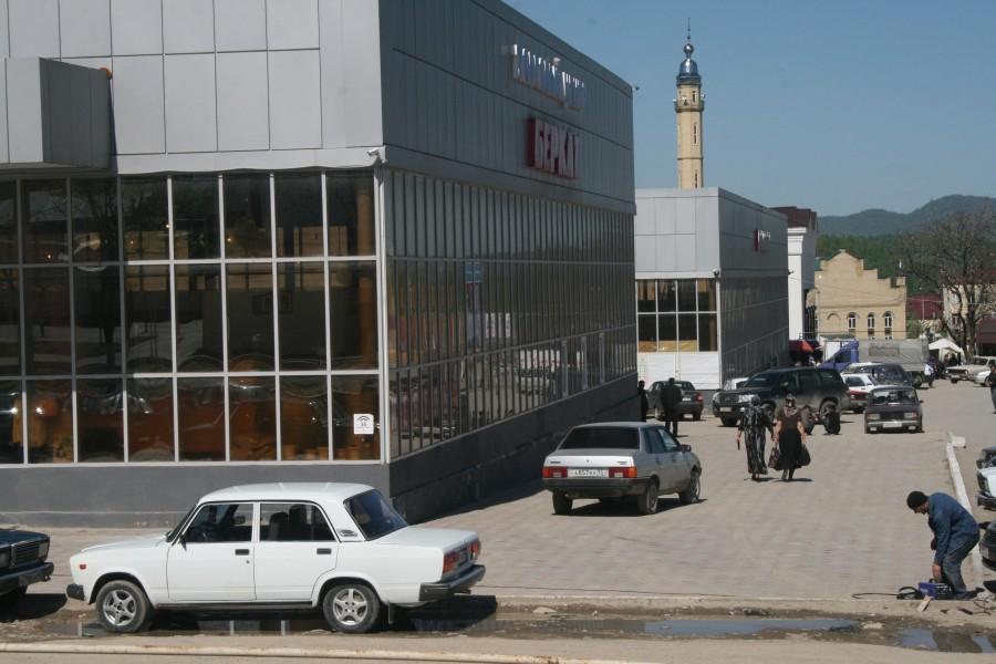 Чечня, центр Ведено