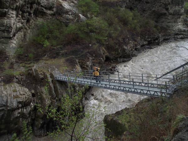 Ушкалой, мост к башням