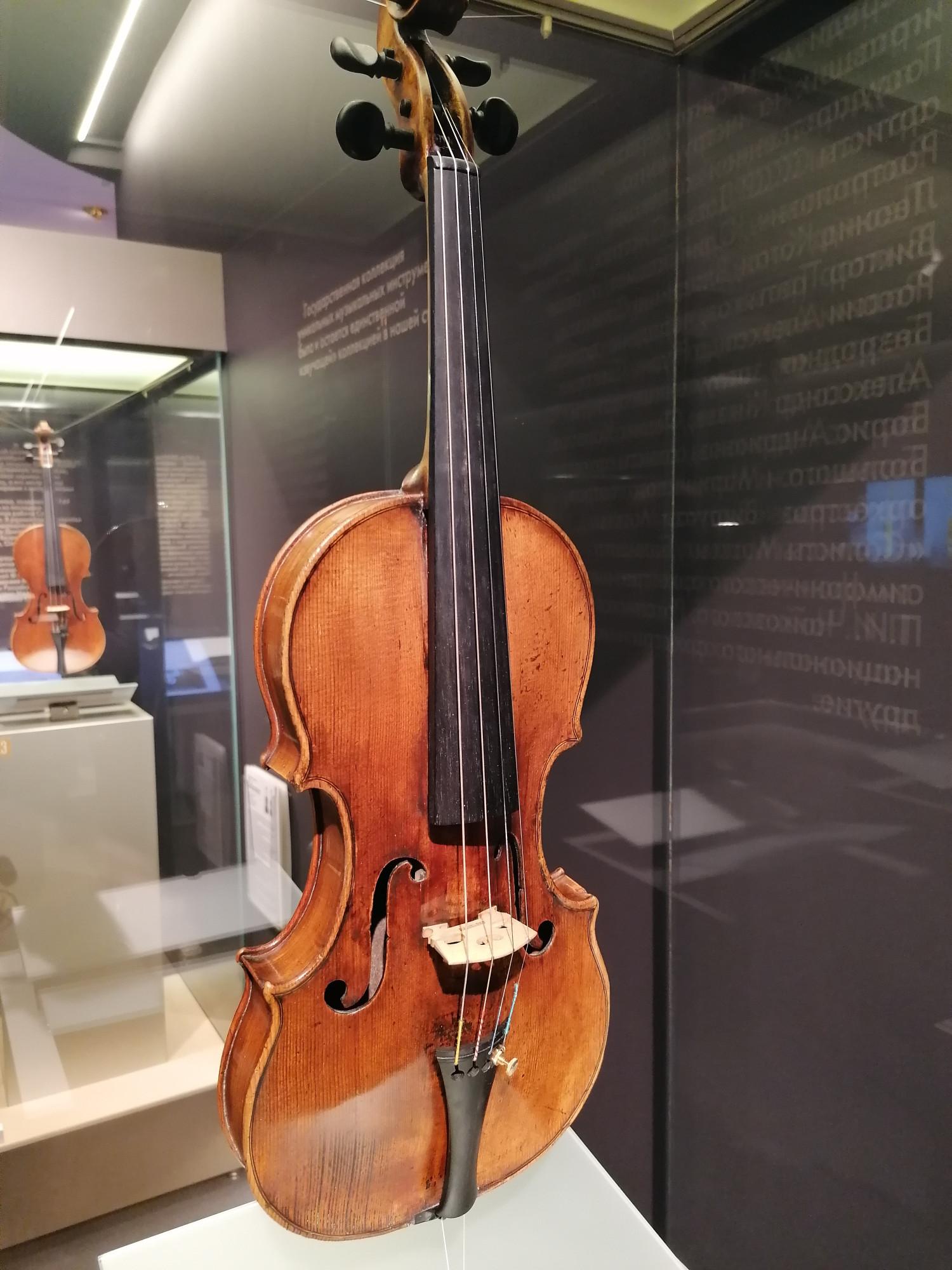 Скрипка Николо Амати из коллекции Российского национального музея музыки
