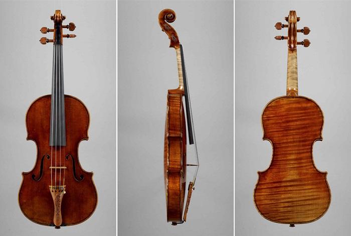 Скрипка Николо Паганини, созданная мастером Карло Бергонци