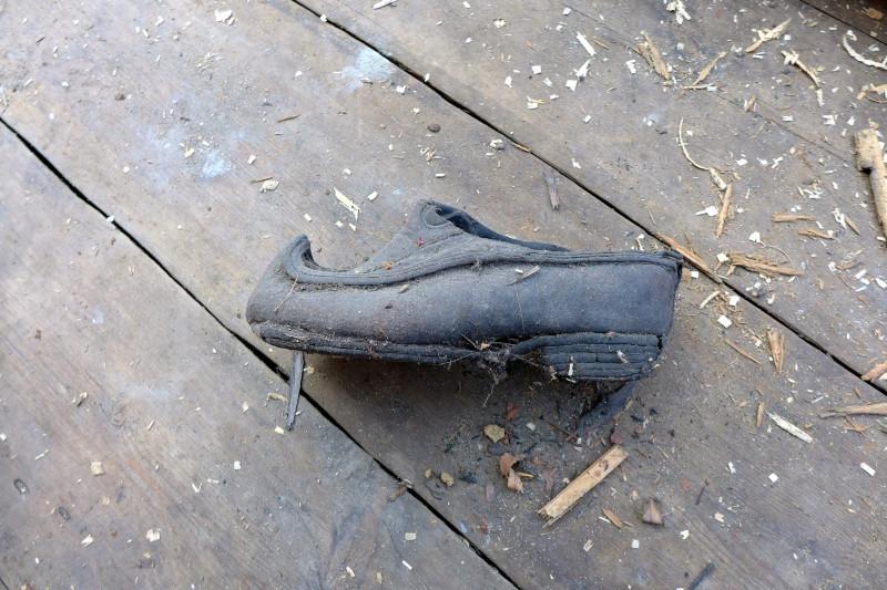 ...модельная туфелька сельской красавицы...