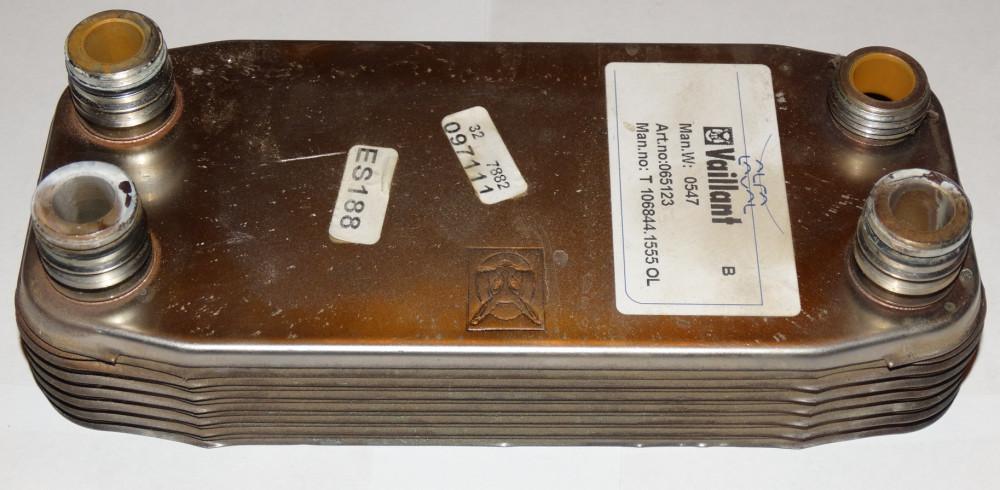 Вайлант газовый котел теплообменник схема монтажа теплообменника для бани