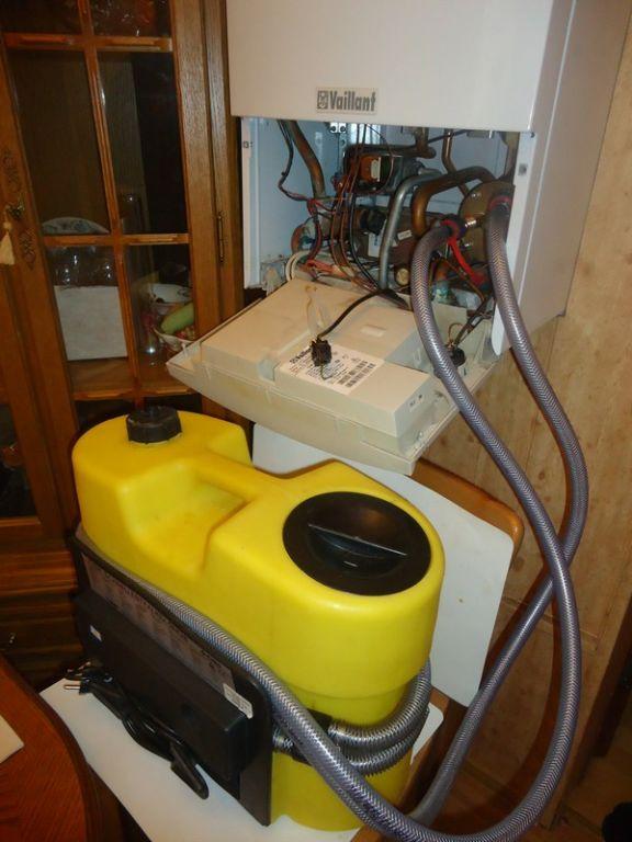 Аппарат для промывки теплообменников газовых котлов своими руками 47