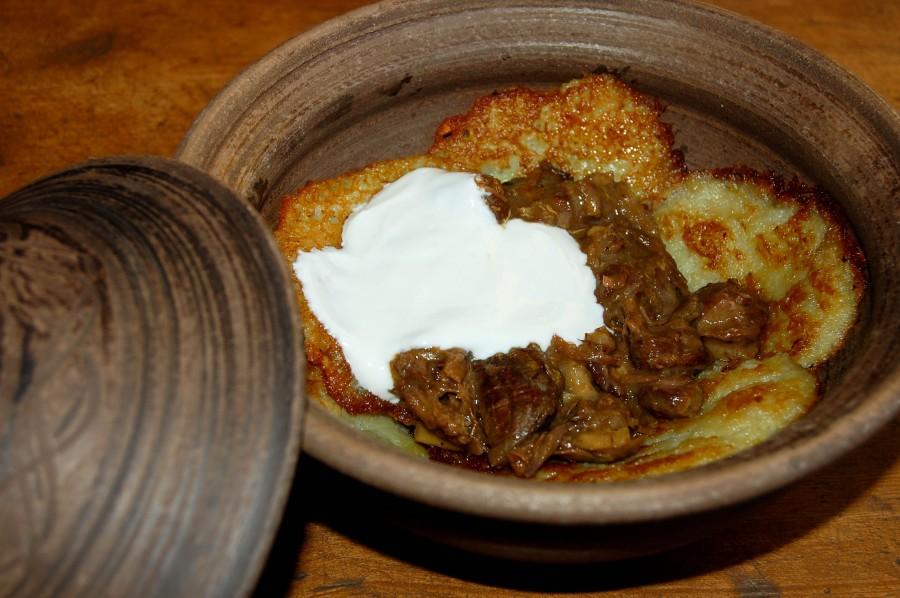 Драники, национальное карпатское блюдо
