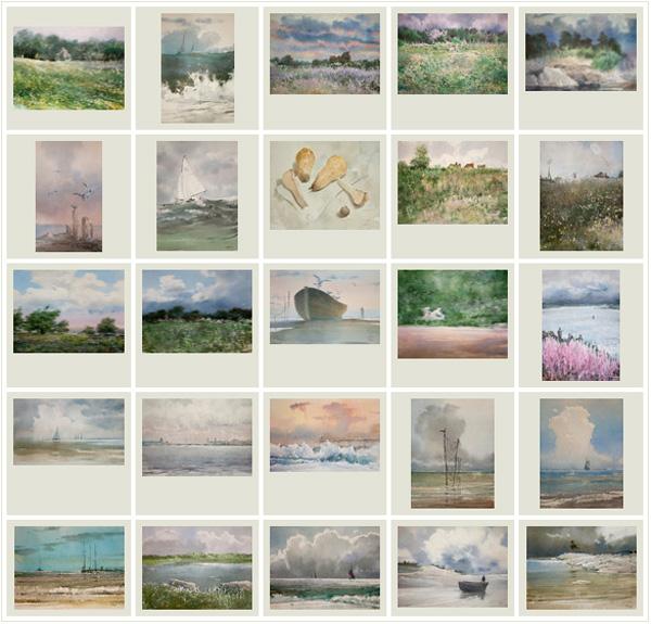 30 акварелей. Май - Сентябрь 2011