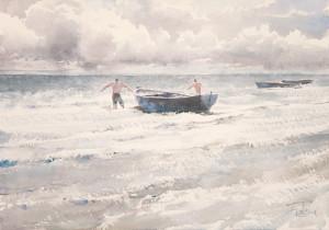 Солнце, ветер, лодка